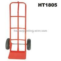 P-shaped Steel Hand truck warehouse trolley tool cart storage industrial  HT1805