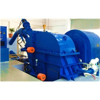 Pelton turbine generator unit / Hydro turbine / Water turbine / Power plant