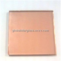 Pink Float Glass/Pink Reflective Glass with ISO9001 Certification