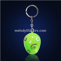 Projector Keychain with LED Light, Ideal for Gifts and Premiums