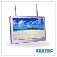 "SEETEC for aerial filming 2 antennas 5.8G receiver 10"" wireless camera monitor"