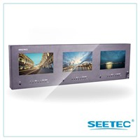 "SEETEC manufacturer for pro broadcast field 5"" trip rack-mounted monitors"