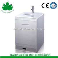 SSU-05 fixed hosptial cabinet with sensor tap and basin