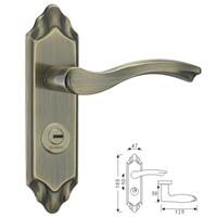 304 STAINLESS STEEL ROOM DOOR LOCK(HZ-S504850H-AB)