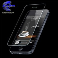 Shocking absorption Tuflite glass screen protector for iphone 4/4S with mature factory supply