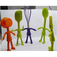 2014 Creative Food Grade Silicone Kitchen Utensils Sets