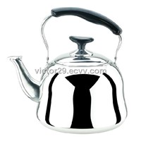 Stainless steel kettle 0.6mm thickness with net or steamer