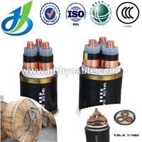 State Grid 10KV Overhead XLPE 3*120mm Copper Armoured Power Cable