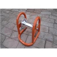 Cable Roller Nylon (aluminum)wheel,Steel plate base