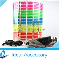Super Flashing & Brightness Car Decoration Equalizer El Car Sticker
