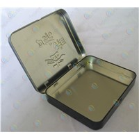 The flip box for betel nut,tin box for food,food packaging