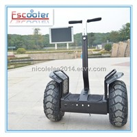 Two Wheel Stand up Balance Electric Bike/electric motorcycle for Police and Personnel Patrol