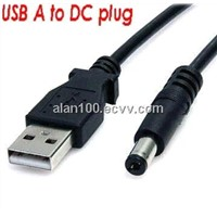 USB to DC Cable / USB cables for charging
