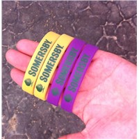 UV color Silicone bracelet