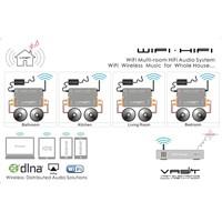 VAST WiFi Wireless Multi-room Audio Digital Amplifiers V-H500