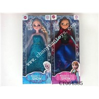 Wholesale Frozen Snow Queen And Princess Doll Make in China