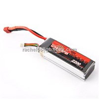 Wild scorpion lipo battey 2200mah 11.1V 30C for DJI Phantom and T-REX 450 etc