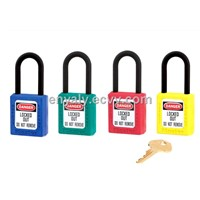 ZC-G13 Non-Conductive Safety Padlock ABS Body Steel Shackle
