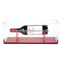 acrylic wine rack/acrylic wine stopper display/ wine rack display wholesale from shenzhen