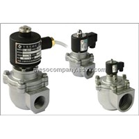 angle piston solenoid pulse valve(DN20-76mm)-high temperature and pressure resistant