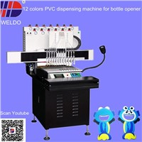 automatic PVC making machine for cartoon PVC bottle opener
