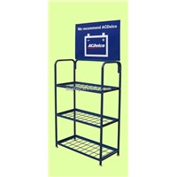 battery display rack/exhibition stand/showroom display racks