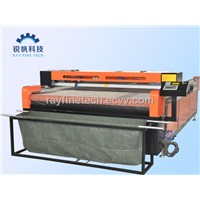 cloth auto feeding laser cutting machine RF-1525-CO2-80W