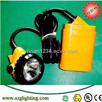 coal mining cap lamp with rechargerable NI-MH battery