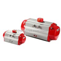 double acting and spring return rotary pneumatic actuator for ball valve and butterfly valve