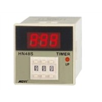 electronic HN48S-1digital multi range time relay, timer relay
