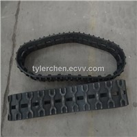 excavator undercarriage parts small rubber track