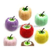 fancy towel artworks like pumpkin, cake towel gift, promotion gift