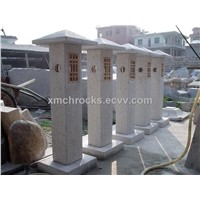 Granite  Column Pillar,Garden decoration