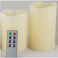 led multi colored flameless candles