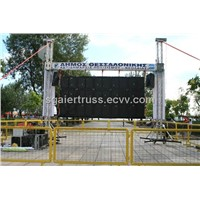 led truss display led screen truss led display support