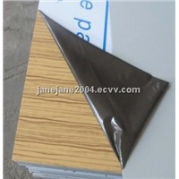 light wood color aluminum composite panel for interior and exterior wall decoration