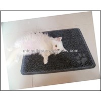 litter catcher pvc mat/pet mat