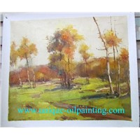 oil painting, impression oil painting, landscape oil painting