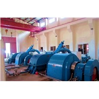 pelton turbine / Power plant / Water turbine / Hydro turbine generator unit