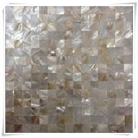 sea shell art,white Mother of pearl mosaic