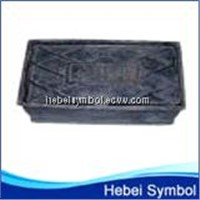 square ductile iron underground used water meter box
