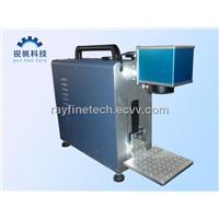 steel tube laser marking machine RF-F20W