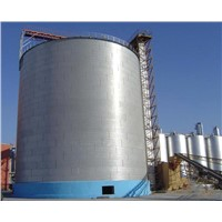 storage silo for feed mill/ flour mill/ seed factory, galvanized steel silo