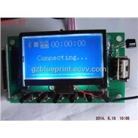 usb sd mp3 pcb with bluetooth, REC, AM, FM, AUX from china manufacturer