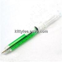 cheap syringe pen refill syringe shape pen for promotion