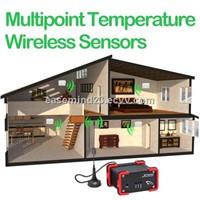 Multipoint Temperature Wireless Sensors