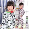 2014 New Baby Wear Girls Pajamas Children's Cartoon Pyjamas Suits Kids Printed Sleepwears