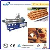 Chocolate Filled Puffed Cereal Snacks Food Machinery in Jinan