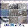 High quality tread aluminum sheet of checker/diamond sheet 3003/5005//5182/decorative aluminum sheet