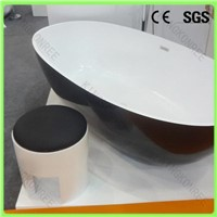 ge coat black bathtub